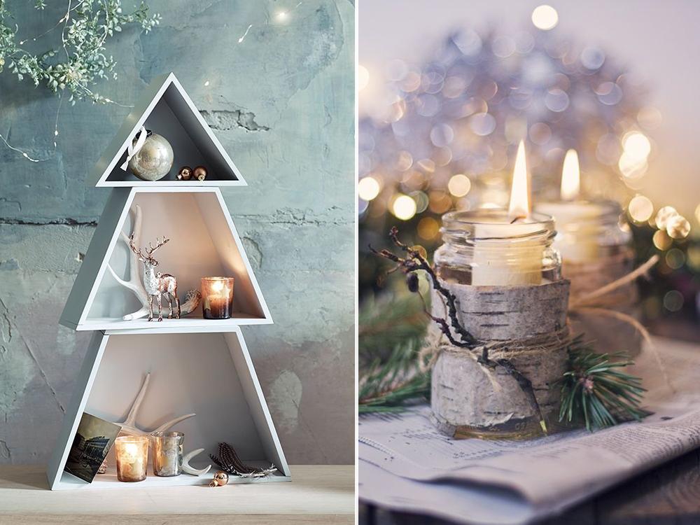Dekoracje świąteczne Trendy 2015 W Zgodzie Z Naturą