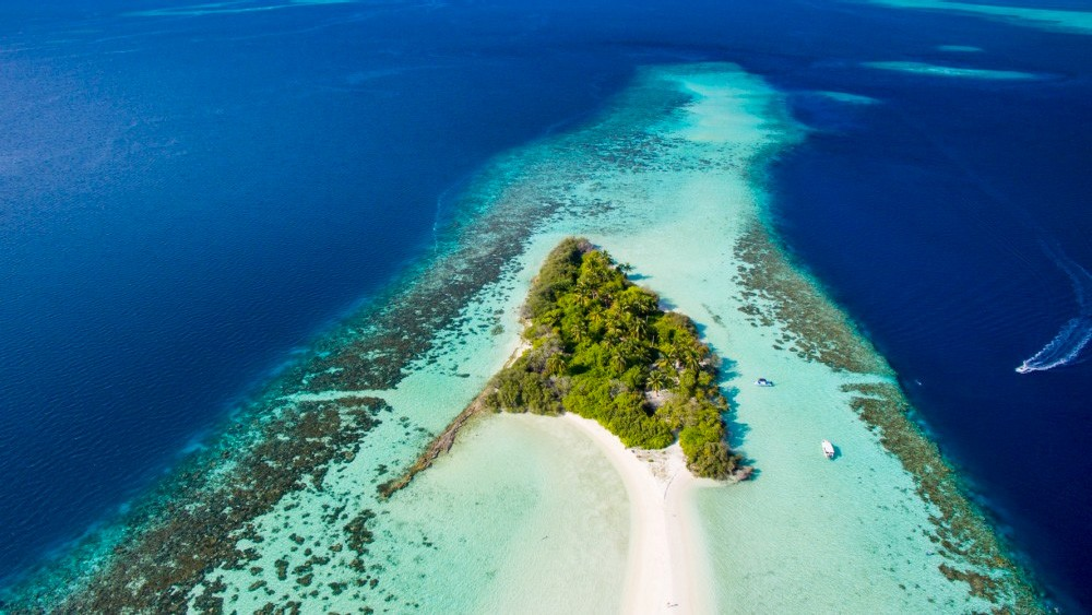Malediwy-drone