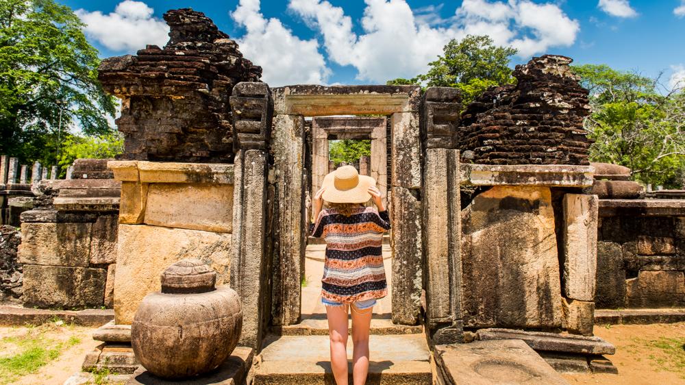 Sri lanka Polonnaruwa-12