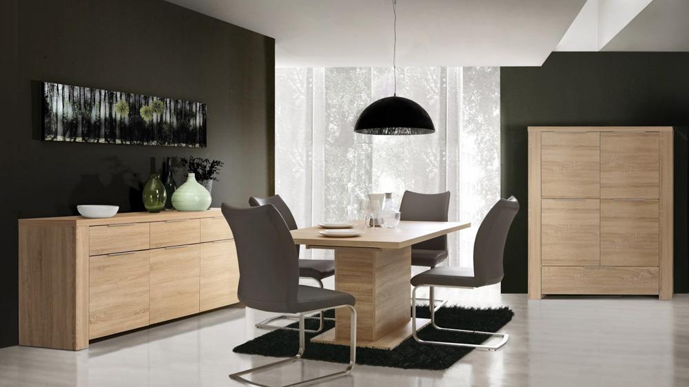 Stól i krzesła do dużej jadalni-2
