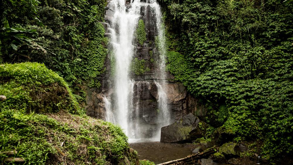 Wodospady w Munduk-1