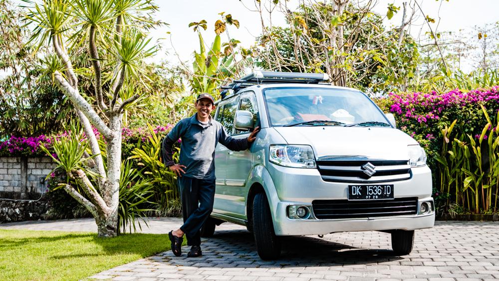 Zaufany kierowca na Bali-1