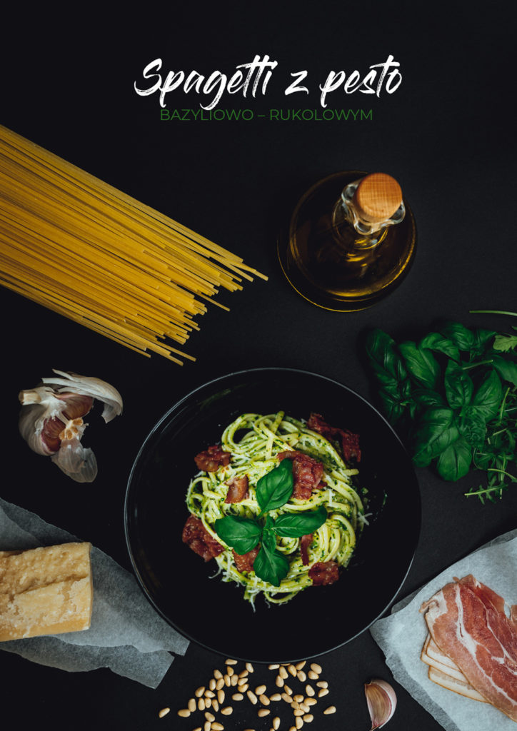 Spagetti z pesto, zielone pesto, najlepsze, dobre