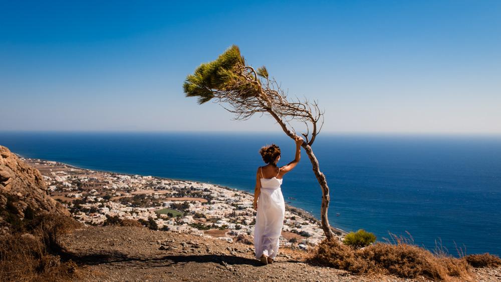 Santorini punkty widokowe