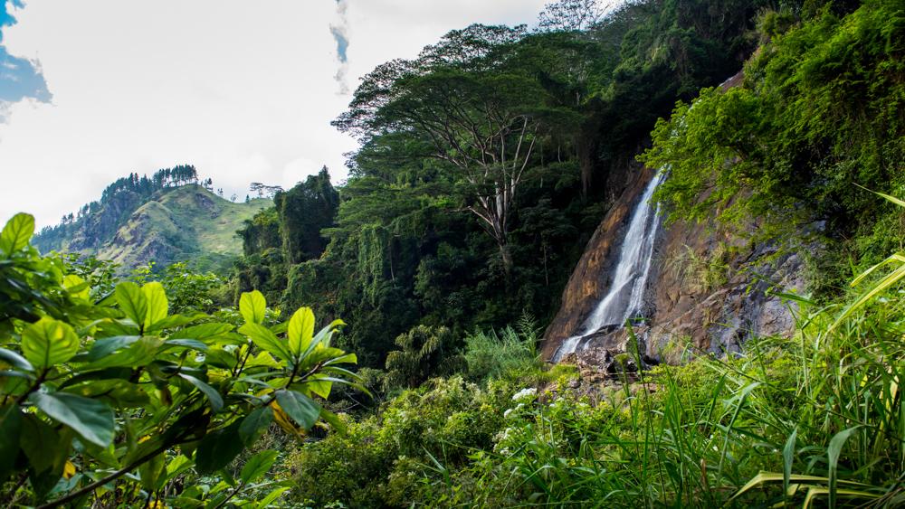 Sri Lanka wodospad Hunnasgiriya-2