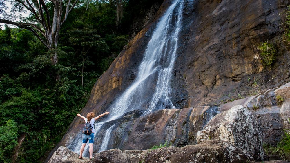 Sri Lanka wodospad Hunnasgiriya-3