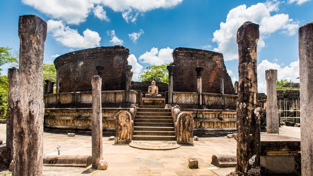 Sri lanka Polonnaruwa-8