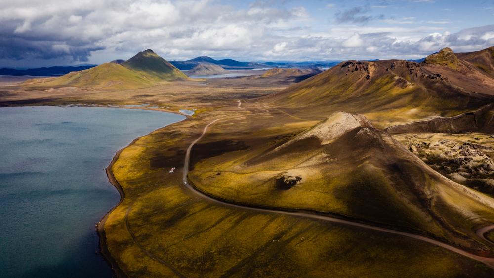 Islandia – dron, fotografowanie na Islandii.
