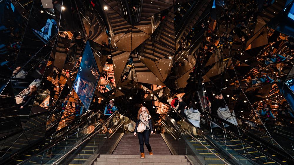 schody metro Tokio