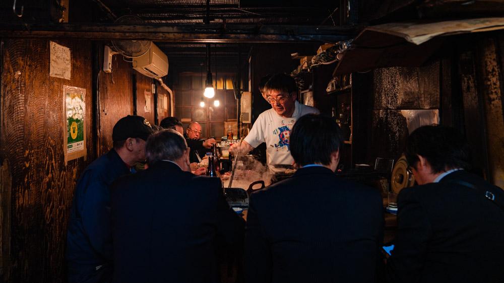 jedzenie w Japonii restauracja w Tokio