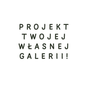Projekt galerii na sciane