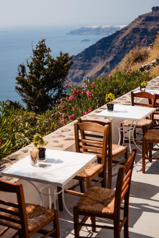 Restauracje na Santorini