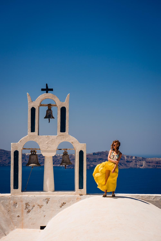 Dzwonnica Santorini