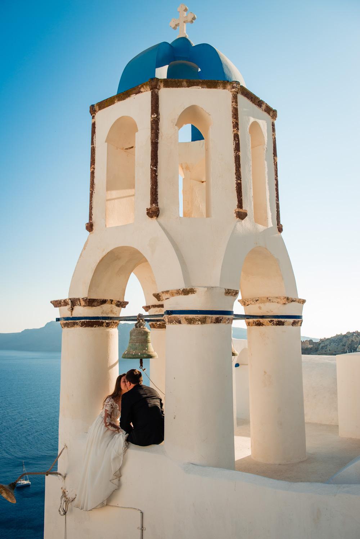Koscioly na Santorini