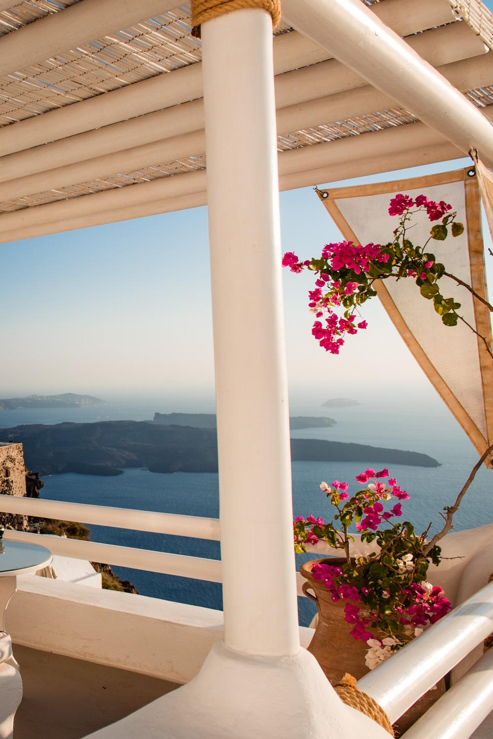 Santorini restauracja