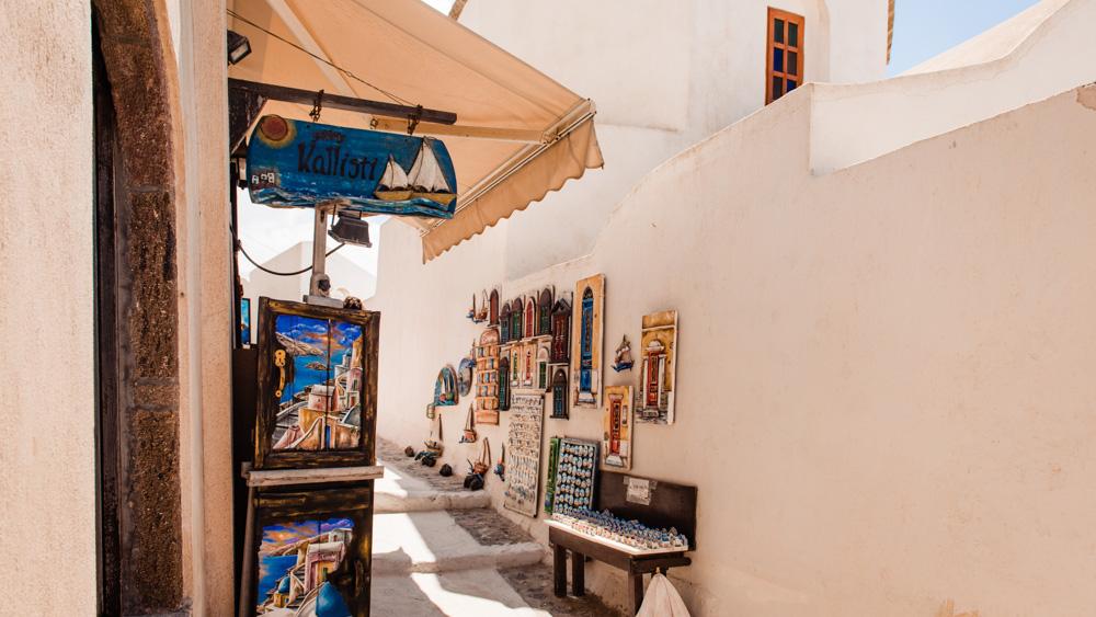 Santorini gdzie zjeść