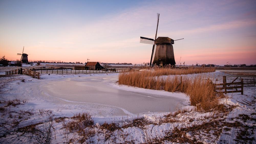 Holandia – najpiękniejsze miejsca zimą!