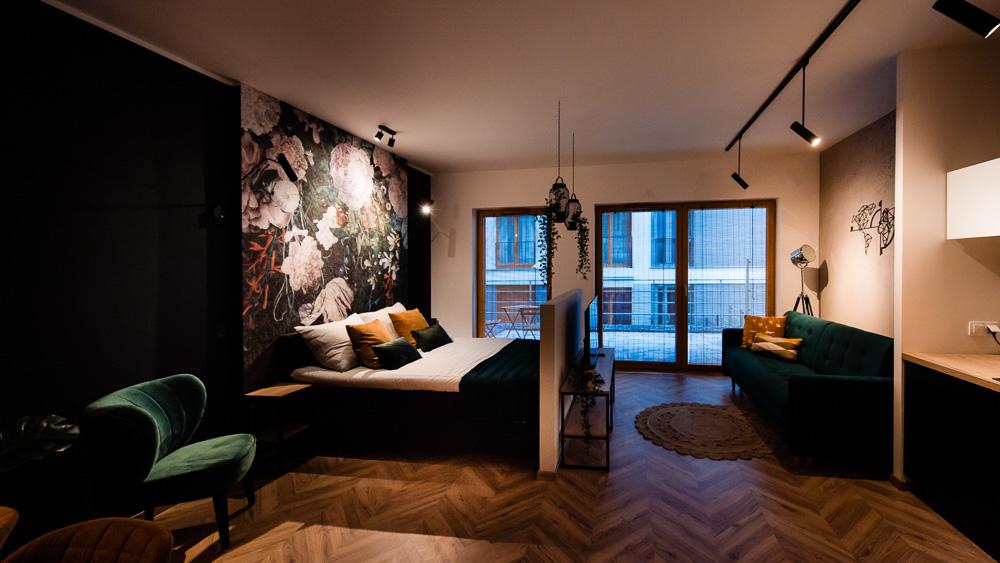 Floral Apartment – czyli gdzie nocować w Krakowie?