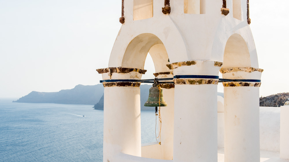 Santorini dzwonnica